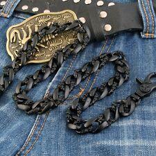Medieval Petal Heavy Biker Trucker Keychain Key Jean Wallet Chain NCS38 Black