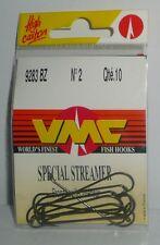 VMC: hameçons Spécial streamer N°2 ref: 9283BZ par 10