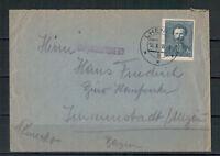 Tschechoslowakei, Zensur Lhenice nach Immenstadt, Allgäu 14.05.1938