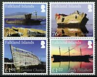 Falkland Islands Ships Stamps 2018 MNH Wrecks Shipwrecks Pt II Boats 4v Set