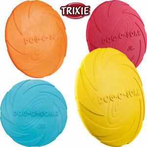 Trixie dog disc Hunde Frisbee Naturgummi schwimmend Flying Fun ø 15-24cm Scheibe