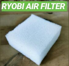Ryobi Air Filter foam air cleaner replacement air box service strimmer blower