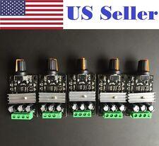 5 PCs Mini DC 6V/12V/24V/28V 3A PWM Motor Speed Regulator Controller Switch