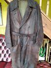 British WW1 Leather Flying Coat