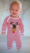 Mud Pie boy or girl knit reindeer one piece outfit Holiday - New sz.6-9ms SALE