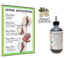 Fresh Jagua® Tattoo Gel 8oz *TOP GRADE PROFESSIONAL DARK STAIN GEL.MADE IN USA