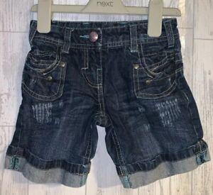 Girls Age 2-3 Years - Next Denim Shorts