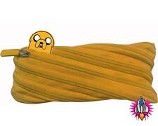 ADVENTURE TIME JAKE NOVELTY ONE ZIP YELLOW PENCIL CASE