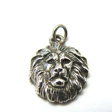 Rare, Retired James Avery Detailed Lion Head Sterling Silver