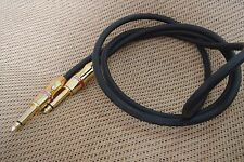 """Monster Cable Bass 500 Prolink Low Noise Guitar Effects Pedal 1/4"""" Cord Cable 2m"""