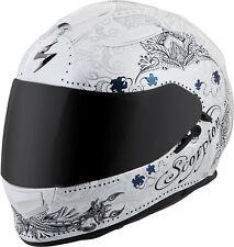 Scorpion Exo-T510 Full-Face Azalea Helmet White Silver