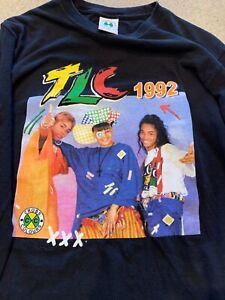 Vintage TLC 1992 Cross Colours Men's Long Sleeve T-shirt Size Small