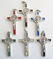 Saint Benedict Crucifix, Italian, Choice of Colour