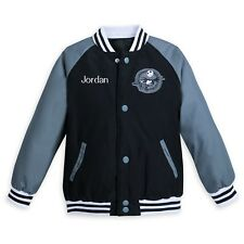Disney Nightmare Before Christmas Jack Skellington Varsity Jacket Kids 11/12