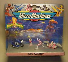 Vintage 90s MMPR Power Rangers Pink Ranger Micro Machines Galoob OVP 1994