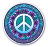 Mandala Arts Fenêtre Autocollant Double Face: Signes de Paix 11.7cm