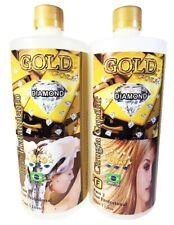 NEW - Capillary Hair Surgery Gold Diamond Gold Shine 2 Steps 2 Lts - FREE SHIPP