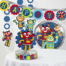 Robot Party Decorations Kit