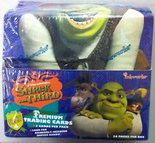 2007 Inkworks Shrek 3 The Third Tradong Card. Box (36 Packs)