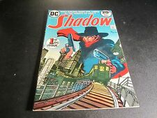 SHADOW #1 AWESOME BRONZE AGE #1 COMIC!!!