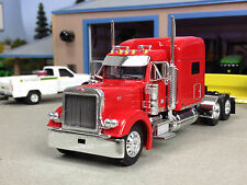 "1/64 DCP RED 379 PETERBILT W/ 70"" SLEEPER"