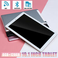 10.1'' Inch Tablet PC Android 8.1 8 Core Wifi 6GB+128GB bluetooth 4.0 DDR3