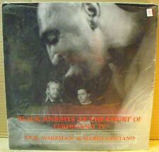 Rick WAKEMAN & Mario FASCIANO - BLACK KNIGHTS AT THE COURT OF FERDINAND IV° LP