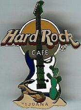 Hard Rock Cafe TIJUANA 2000 Snake & Cactus GUITAR PIN - HRC Catalog #9824