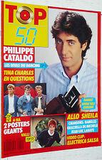 TOP 50 N°60 1987 POSTER A-HA VALLI / CATALDO BANGLES SHEILA LAHAYE TINA CHARLES