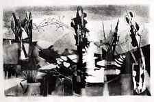 CAMPENDONK-Schüler Ernst WEIERS - ZWISCHEN den ZEITEN - hsign.OLithographie 1962