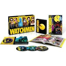 Watchmen: The Ultimate Cut (Blu-ray Disc, 2012, 4-Disc Set, With Graphic Novel)