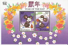 Tuvalu 1996 Year of the Rat Souvenir Sheet MNH (SC# 714)