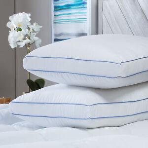 SensorPEDIC MemoryLOFT Deluxe Gusseted Pillow with Memory Foam Center - 2 Pack