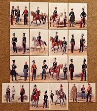 Stunning Collection of 16 5x7 Art Prints of Russian Military from the 1800s NEW