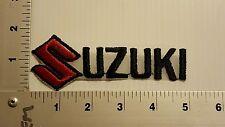 SUZUKI MOTORCYCLE   VINTAGE EMBROIDERED PATCH