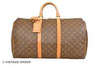 Louis Vuitton Monogram Keepall 50 Travel Bag M41426 - YG01006
