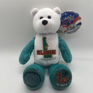 Limited Treasure Coin Bear Delaware 1st State Quarter Plush Bear