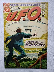 Space Adventures presents U.F.O. Vol. 3 #60 (Oct. 1967, Charlton) [FN+ 6.5]