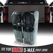 Black Smoke Len Led Rear Tail Light Lamp Fit Isuzu Holden Dmax D-Max 2012-2017