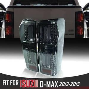 Black Smoke Len Led Rear Tail Light Lamp Fit Isuzu Holden Dmax D-Max Blade 12-19
