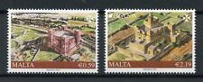 Malta 2017 MNH Castles Europa Gourgoin Tower Xewkija 2v Set Architecture Stamps