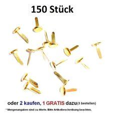 150 Stück* Rundkopfklammern Musterbeutelklammern Verschlußklammer Aktion: 2 + 1