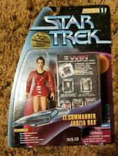 Lt. Commander Jadzia Dax Playmates Toys Star Trek Warp Factor Series 1 tribbles