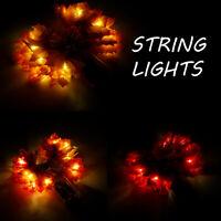 Décoration scintillement batterie guirlandes lumineuses à LED pr jardin  SH