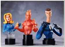 FANTASTIC FOUR TRIPLE 3 PACK BUST BY BOWEN DESIGNS - FACTORY SEALED, NIB/MIB