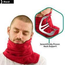Portable Soft Neck Support Lightweight Travel Pillow Red