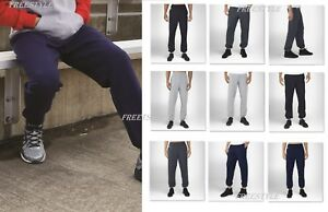 New Russell Athletic Dri Power Closed Bottom Sweatpants with Pockets 029HBM SALE