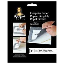 SPEEDBALL ART PRODUCTS 0010746 JUMBO WHITE GRAPHITE PAPER 18X24