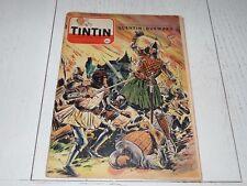 TINTIN 24/02 1955 N°331 HERGE TOURNESOL DAN COOPER WEINBERG DURWARD POTEZ 75