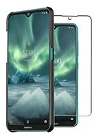 For Nokia 6.2 Case Slim Hard Cover & Glass Screen Protector